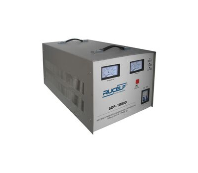 Электромеханический стабилизатор напряжения повышенной точности RUCELF SDF-10000