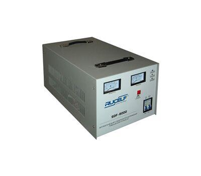 Электромеханический стабилизатор напряжения повышенной точности RUCELF SDF-8000