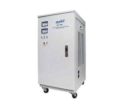 Электромеханический стабилизатор напряжения повышенной точности RUCELF SDV-15000