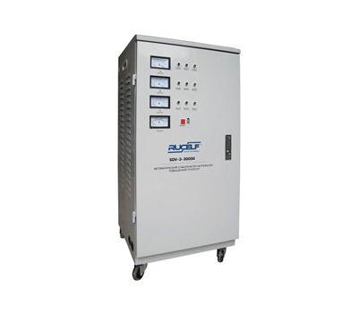 Трехфазный стабилизатор напряжения высокой точности RUCELF SDV-3-30000