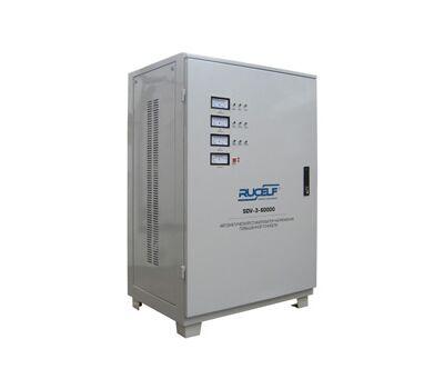 Трехфазный стабилизатор напряжения высокой точности RUCELF SDV-3-60000