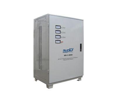 Трехфазный стабилизатор напряжения высокой точности RUCELF SDV-3-90000