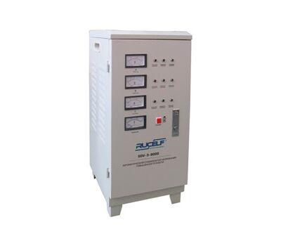 Трехфазный стабилизатор напряжения высокой точности RUCELF SDV-3-9000