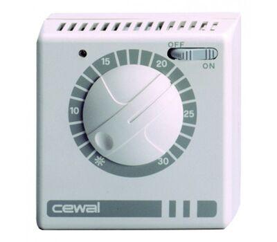 Терморегулятор Cewal RQ30 с индикатором и кнопкой