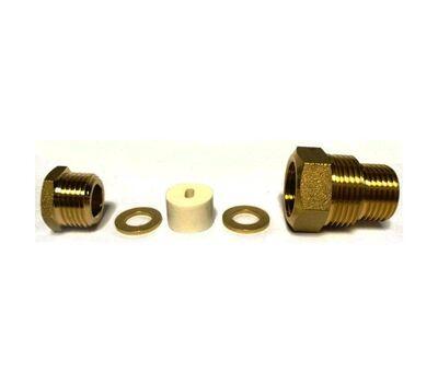 Сальник для ввода греющего кабеля в трубу AKS 1/2 и 3/4