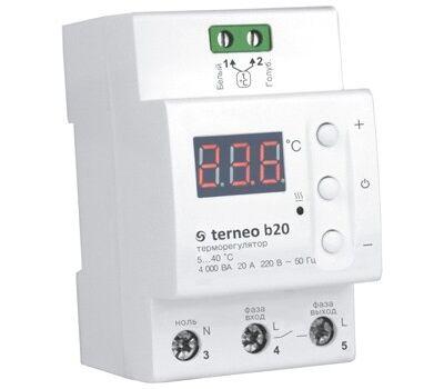 Цифровой терморегулятор terneo b20
