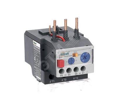 Реле тепловое для контакторов РТ-03 DEKraft 23.0-32.0А РТ-03