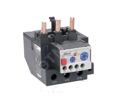 Реле тепловое для контакторов РТ-03 DEKraft 40-95А 37.0-50.0А