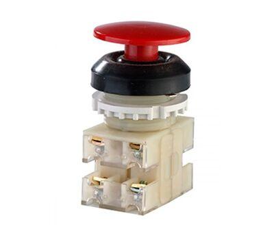 ВК30-10-22130-54 У2, красный, 2з+2р, гриб без фиксации, IP54, 10А. 660В