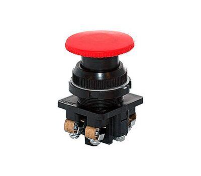 Кнопка красная КЕ-021 Гриб 1но+1нз исполнение 2 (КЕ-021 исп2(1но+1нз))