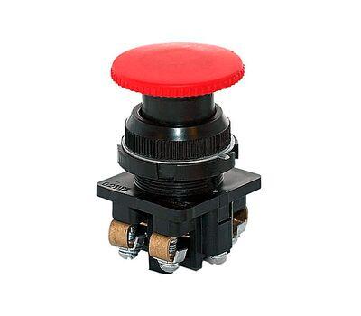 Выключатель кнопочный КЕ-191/2 красный (КЕ-191/2 крас.)