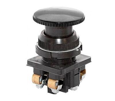Кнопка КЕ-021 исп3 (2р) чер.гриб
