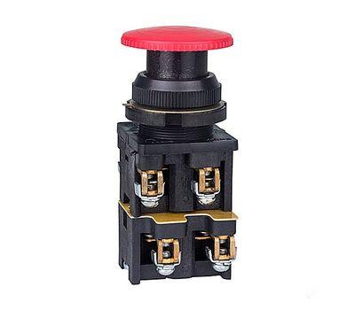 Кнопка КЕ-022 исп3(2з+2р) крс.гриб