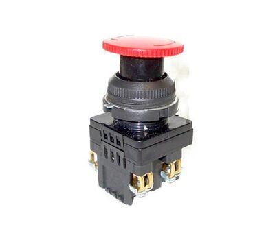 Кнопка КЕ-131 исп2(1з+1р) красная с фиксацией
