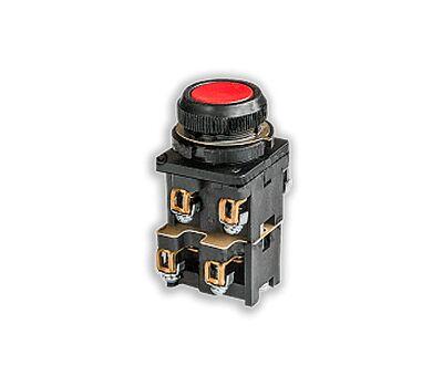 Кнопка КЕ-012 исполнение 2(3но+1нз) красная кнопка