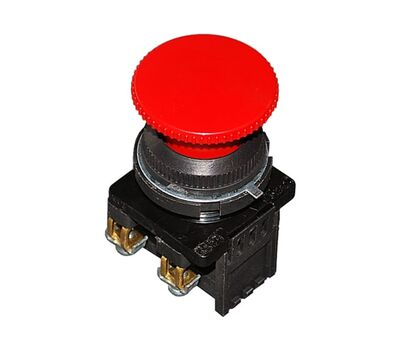 Кнопка красная КЕ-201 исп3 (2нз)