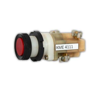 Кнопка КМЕ 4111 красная