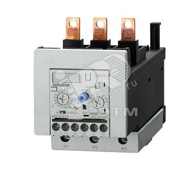 Реле перегрузки SIEMENS 160-630 A для защиты двигателей (S10/S12, класс 10)