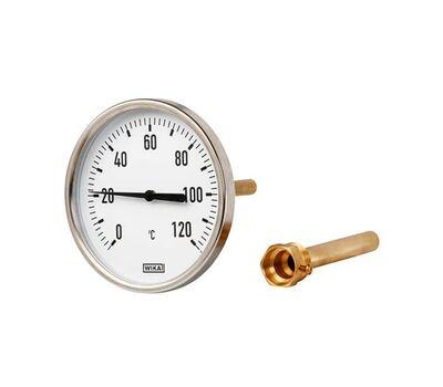 "WIKA А5000 d=63 мм, 0-120°C, G1/2"", L1=100 (мм)"