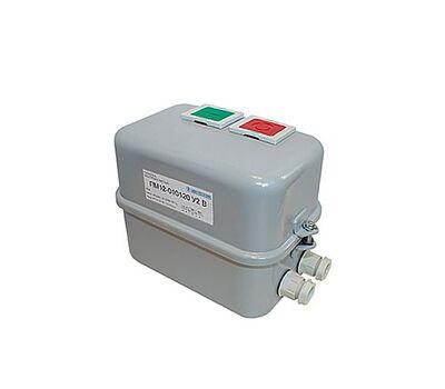 ПМ12-025120 У2 В, 380В/50Гц, 1з, 25А, нереверсивный, без реле, в корпусе IP54, с кнопками ПУСК и СТОП