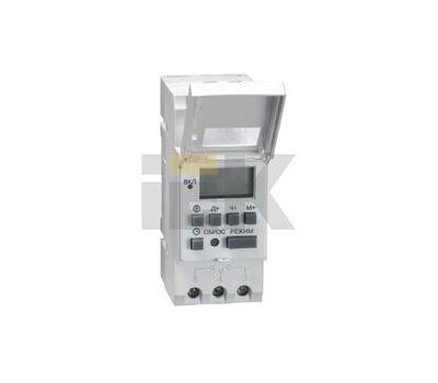 Таймер цифровой ТЭ15 ИЭК, 16А 230V на DIN-рейку