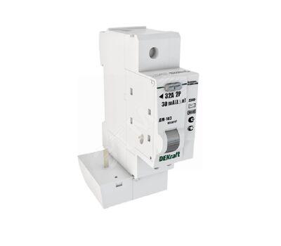Блок дифференциальный ДМ-103 1P+N 32А 30мА 6кА АС для ВА-103