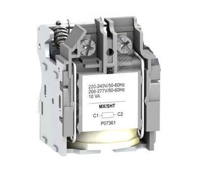 Расцепитель независимый NSX100/630 220В АС